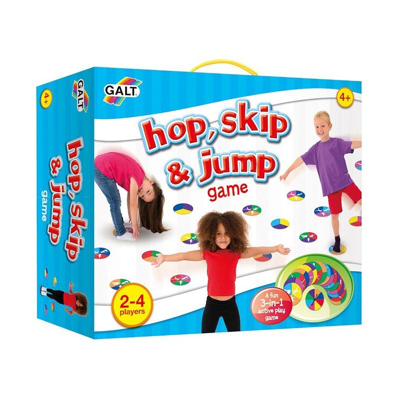 """欧米にあるという""""hop skip & jump""""という玩具。楽しそう…。"""